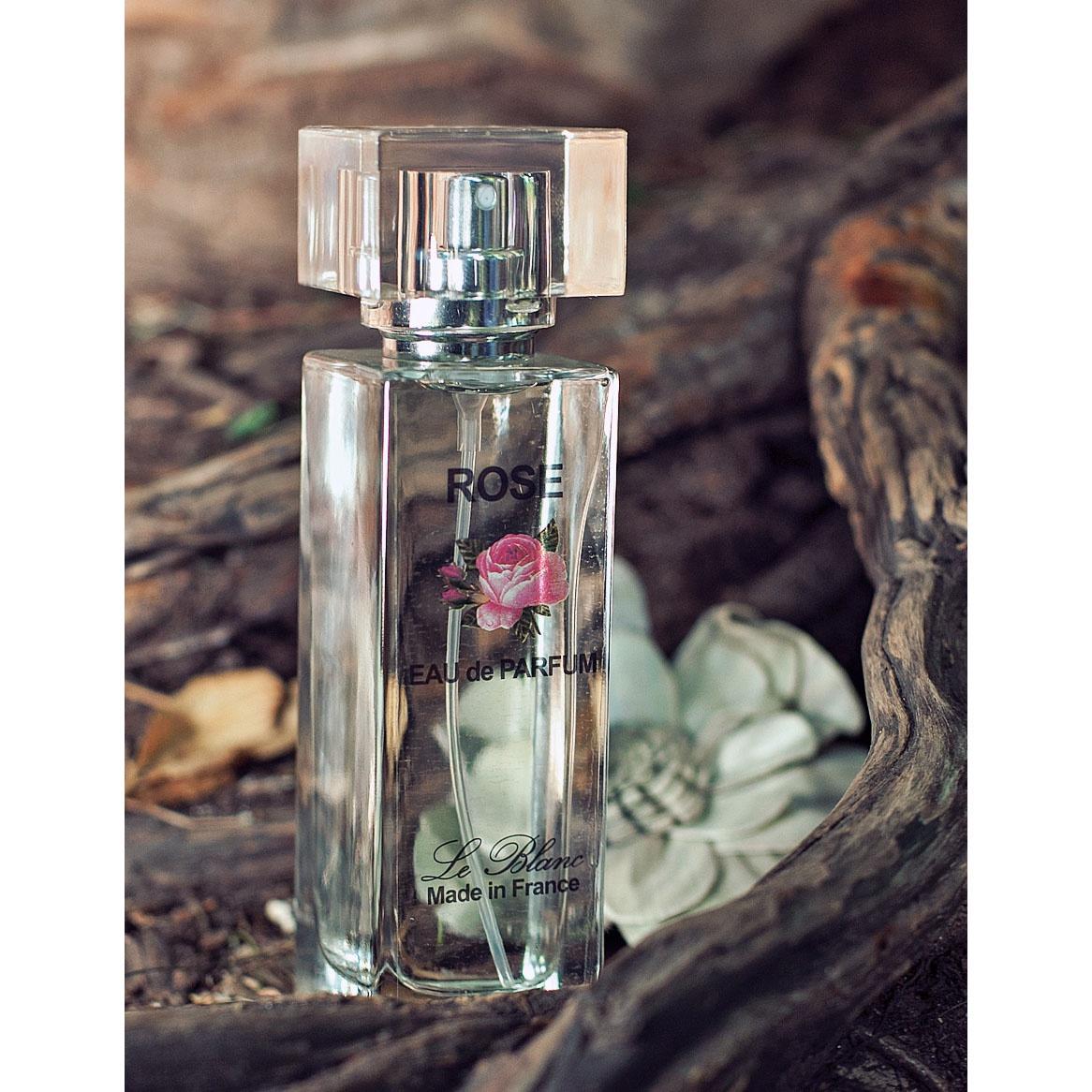 Парфюмерная вода Le Blanc Роза ароматерапия запах розы