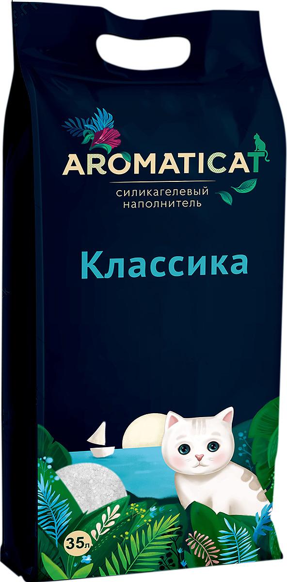 Наполнитель для кошачьего туалета AromatiCat