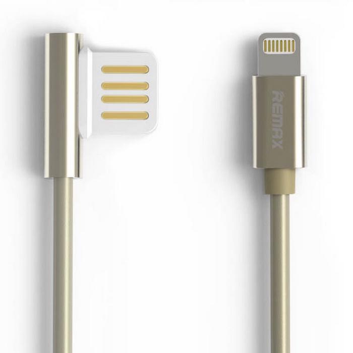 цена на Кабель Remax Emperor RC-054i lightning/USB, золотой