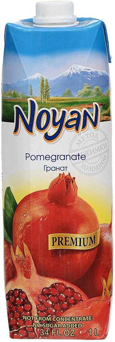 Noyan Гранатовый сок Premium, 1 л