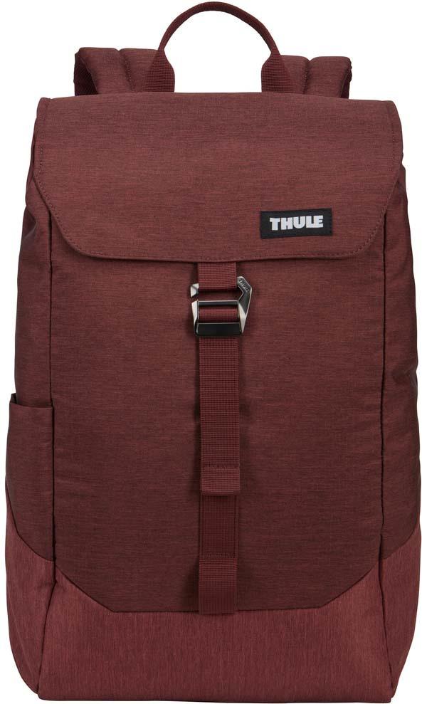 Рюкзак городской Thule Lithos Backpack, 3203629, темно-бордовый, 16 л рюкзак городской thule lithos backpack 3203632 черный 20 л