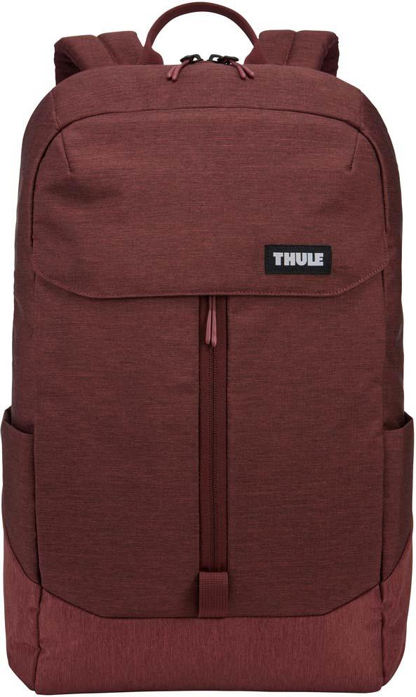 Рюкзак городской Thule Lithos Backpack, 3203634, темно-бордовый, 20 л рюкзак городской thule lithos backpack 3203632 черный 20 л