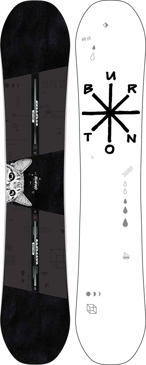 Сноуборд женский Burton Rewind, длина 146 см