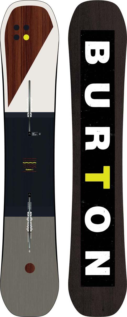 Сноуборд мужской Burton Custom, длина 162 см
