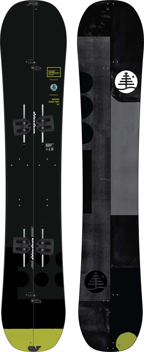 Сноуборд мужской Burton Ft Fa X Split, длина 163 см