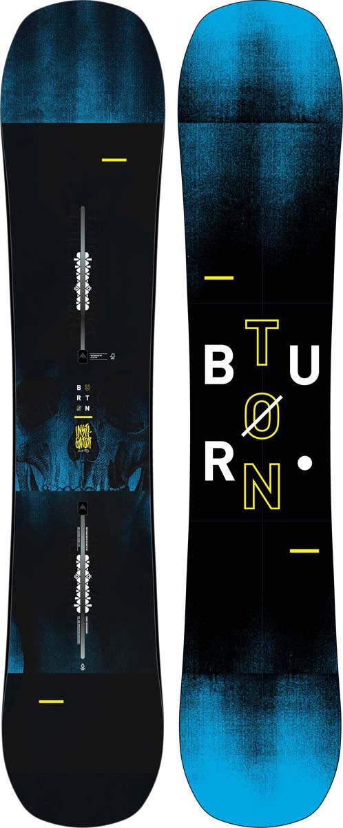 Сноуборд мужской Burton Instigator, длина 145 см сноуборд burton ripcord ростовка 162 см