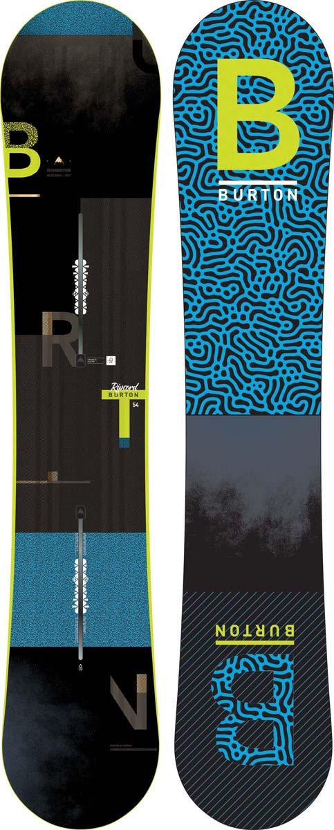 Сноуборд мужской Burton Ripcord, длина 154 см сноуборд burton ripcord ростовка 162 см