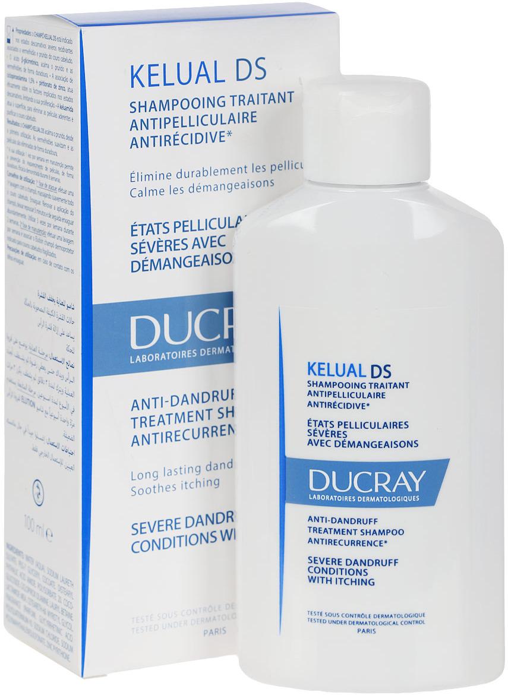 Ducray DS Шампунь Kelual для лечения тяжёлых форм перхоти 100мл шампунь ducray kelual ds аналоги