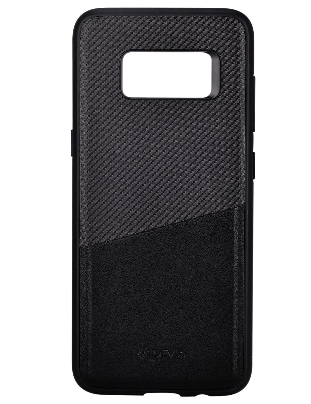 Чехол Devia iWallet Samsung Galaxy S8+ (Черный)