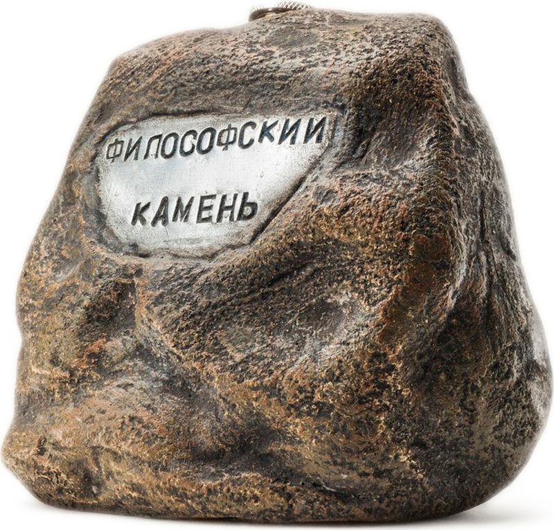 Фляга Бюро находок Философский камень, AFA18, серый, 500 мл
