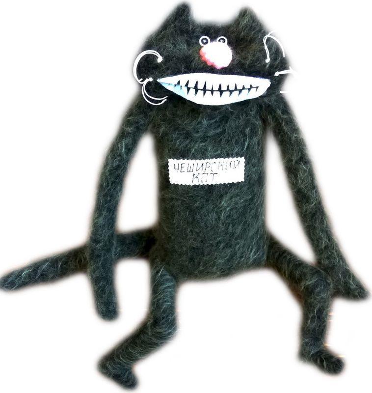 Мягкая игрушка Бюро находок Чеширский кот, AIG103 рюмка бюро находок сними напряжение цвет прозрачный