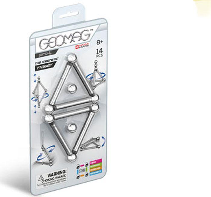 Конструктор магнитный Geomag Pro-L, 018, 14 элементов geomag конструктор магнитный geomag pro l 110 деталей
