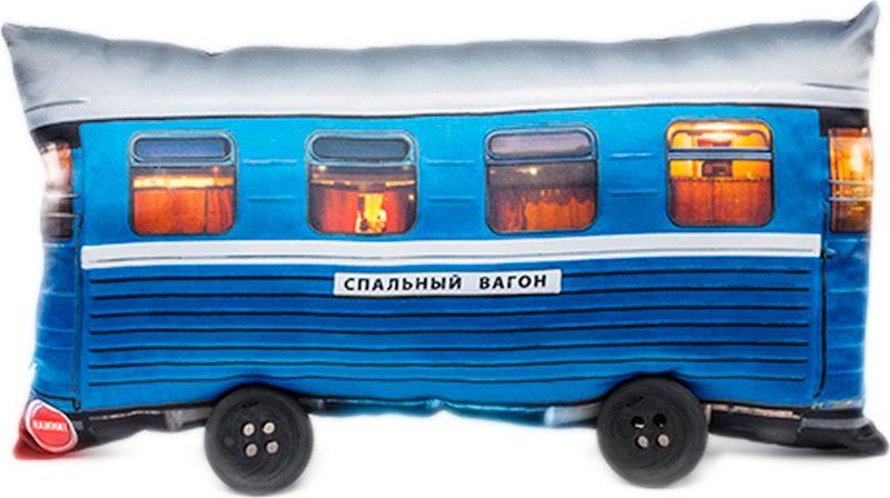 Подушка Бюро находок Спальный вагон, ASH153, разноцветный, 25 х 50 см рюмка бюро находок сними напряжение цвет прозрачный