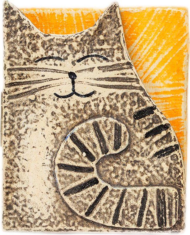 Зеркало карманное Бюро находок Кто милее котиков, AZA37, темно-бежевый, ширина 8 см нгуан о секреты красоты для девочек кто на свете всех милее