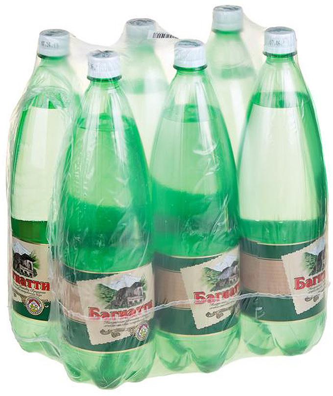 Вода Багиатти, газированная, 6 шт х 1,5 л