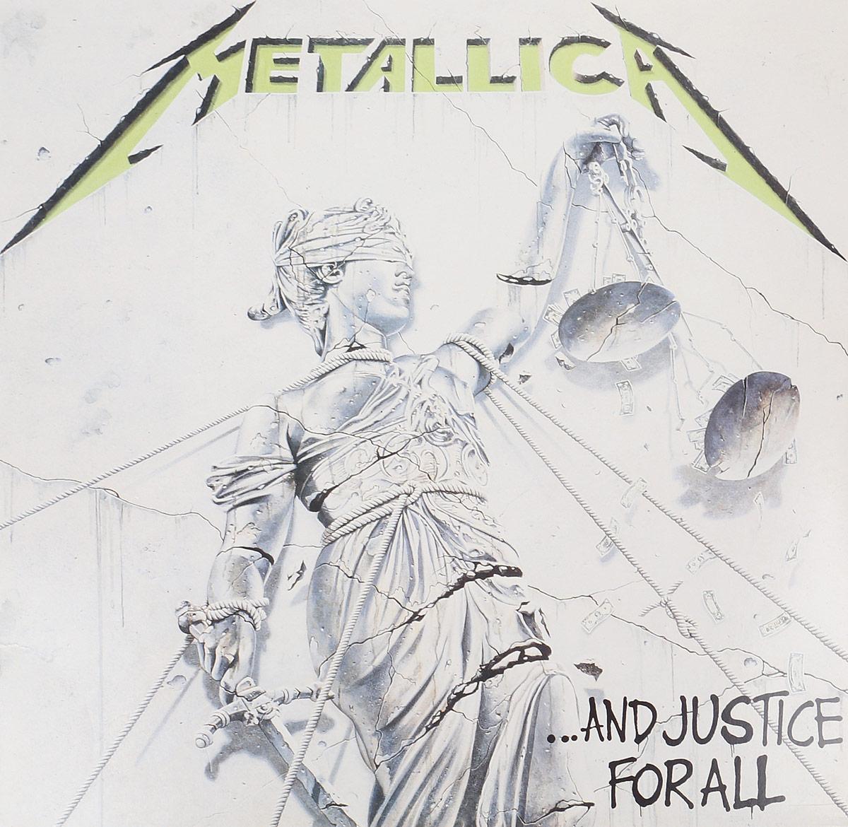Metallica Metallica. And Justice For All (2 LP) metallica metallica garage inc 3 lp