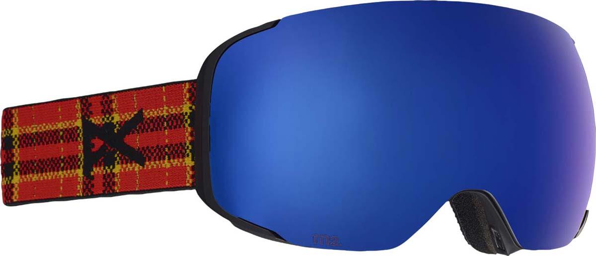 Маска горнолыжная мужская Anon M2 W/Spr, с запасной линзой, цвет: разноцветный anon маска сноубордическая anon somerset pellow gold chrome
