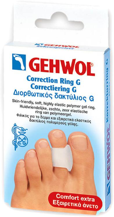 Фото - Кольцо-корректор Gehwol Korrekturring G, 3 шт gehwol g кольцо на палец среднее 30 мм 12 шт