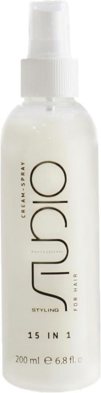 Крем-спрей для волос Kapous Professional Studio, 15 в 1, 200 мл