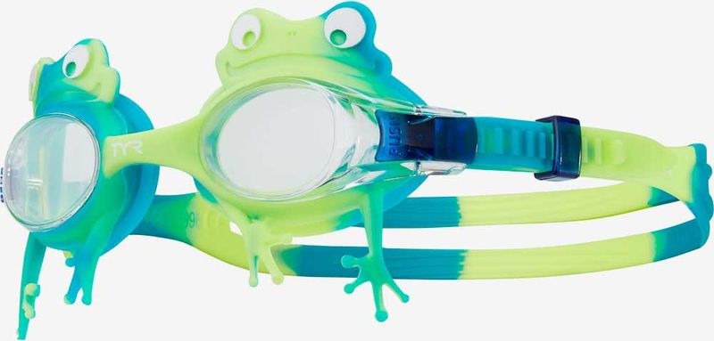 Очки для плавания TYR Kids' Swimple Frog, LGSWFRO, зеленый топ для плавания tyr tyr ty003ewxiw63