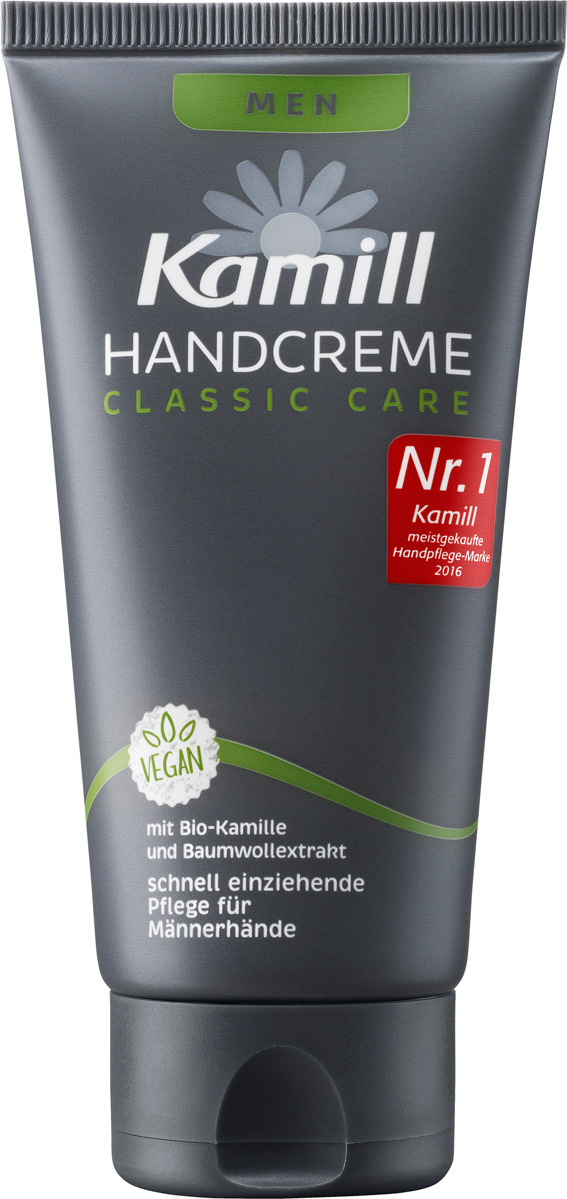 Крем для рук мужской Kamill Handcreme Men 26950143, 75 мл kamill