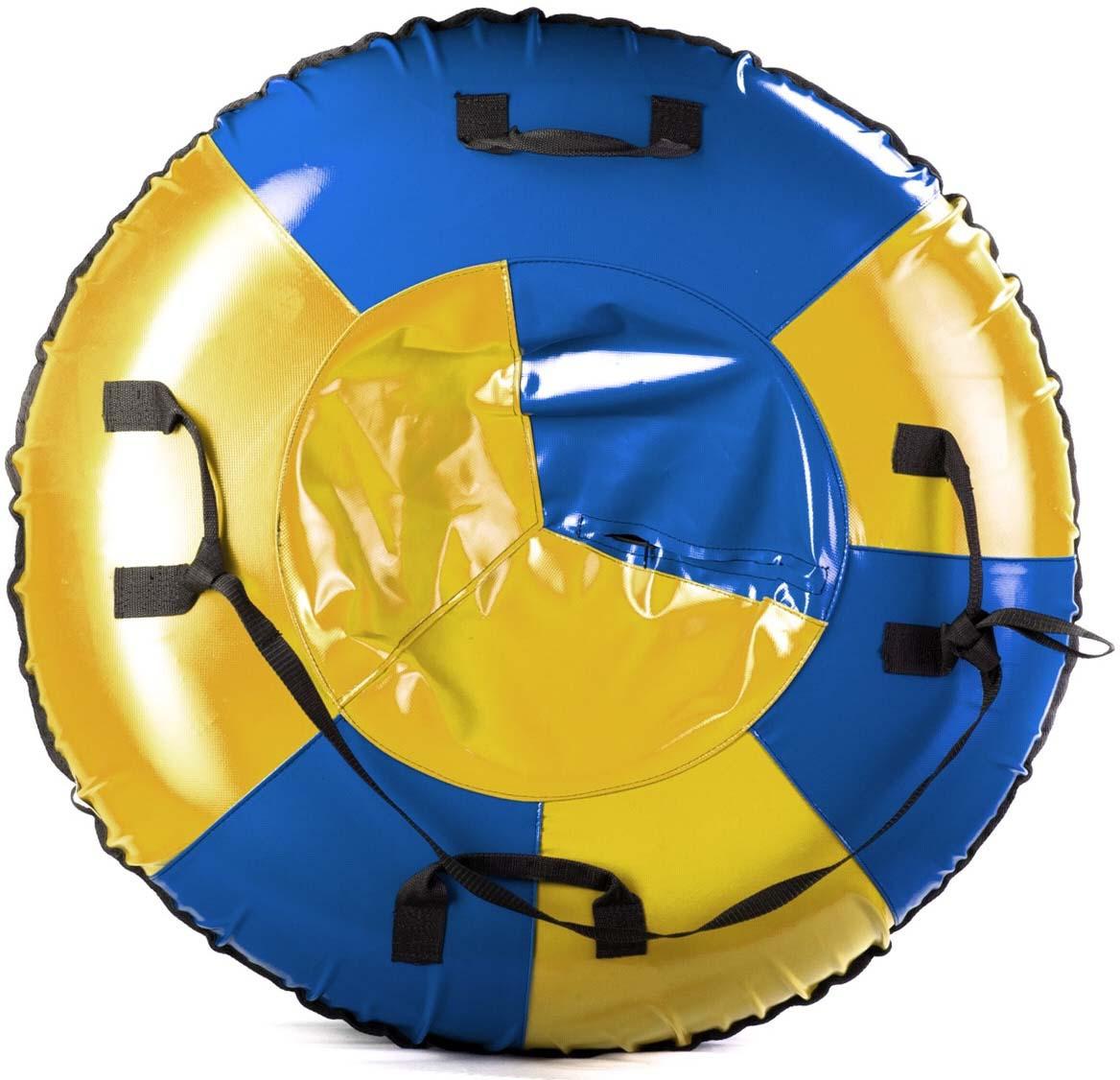 Тюбинг Indigo Классика, SM-216-95, диаметр 95 смSM-216-95Тюбинг Классика выполнен из 100% ПВХ особой прочности, что обеспечивает отличное скольжение даже по тонкому слою снега. Предназначен для катания со снежных горок.Тюбинг снабжен буксировочным ремнем и очень удобными ручками из прочной стропы, внутри вставлена автомобильная камера.