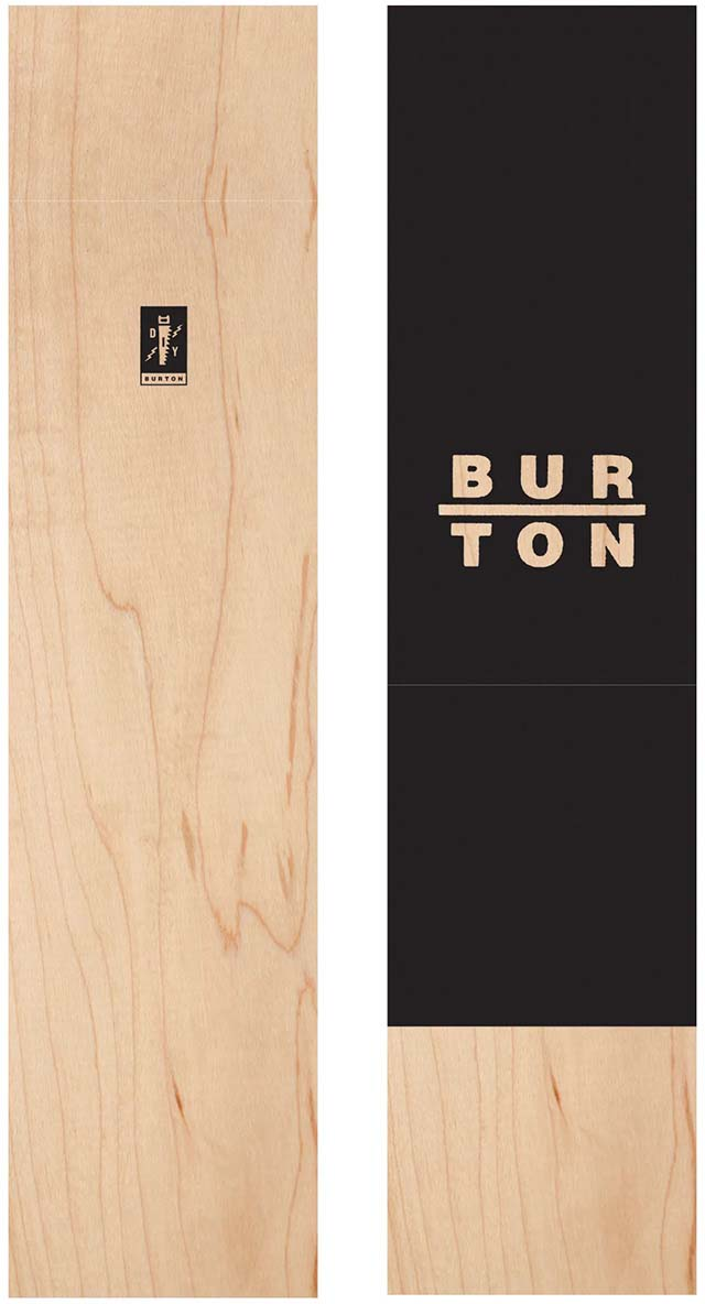 Сноуборд мужской Burton Diy Throwback, длина 130 см