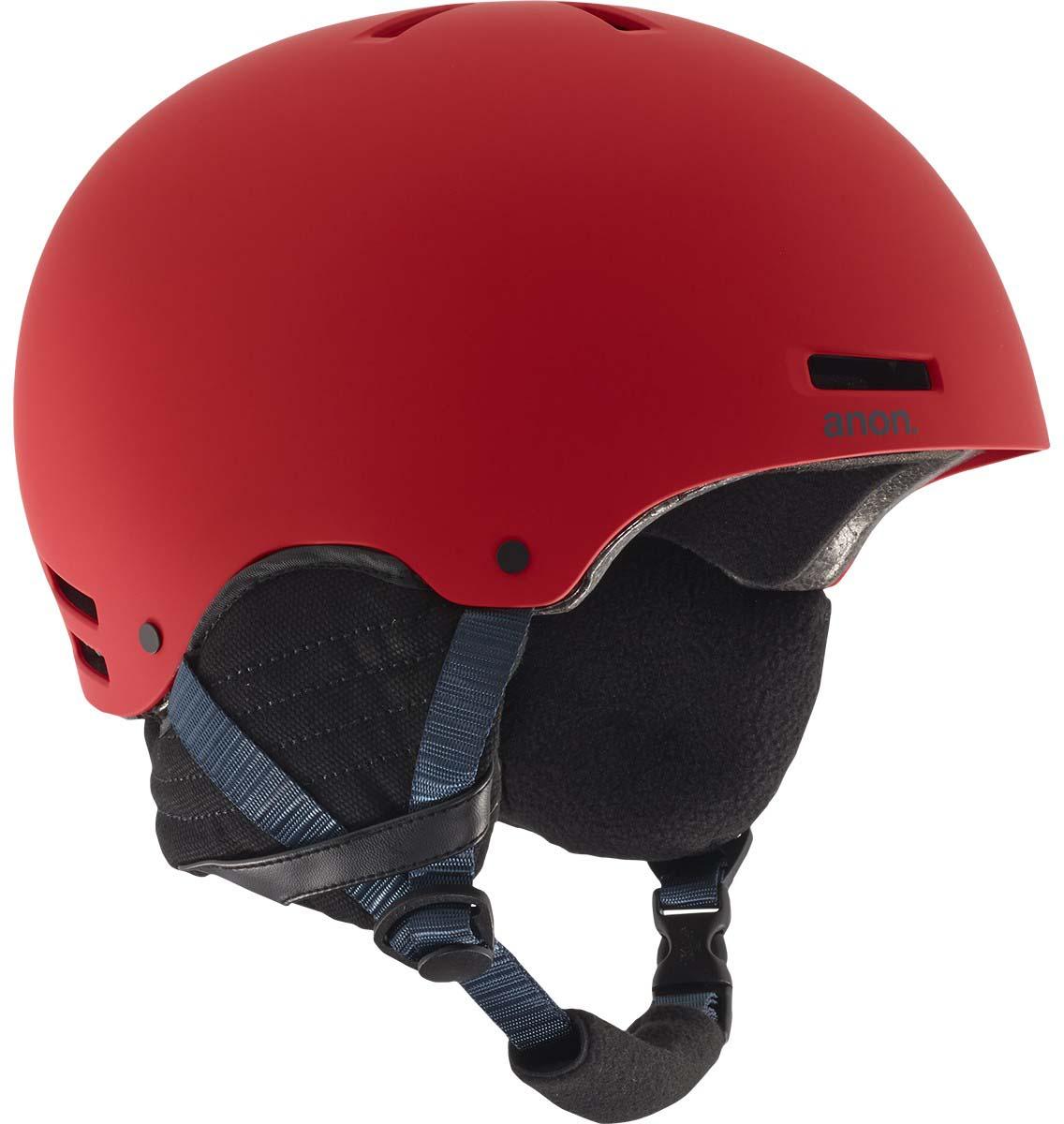 Шлем горнолыжный Anon Rodan, цвет: красный. Размер L anon маска сноубордическая anon somerset pellow gold chrome