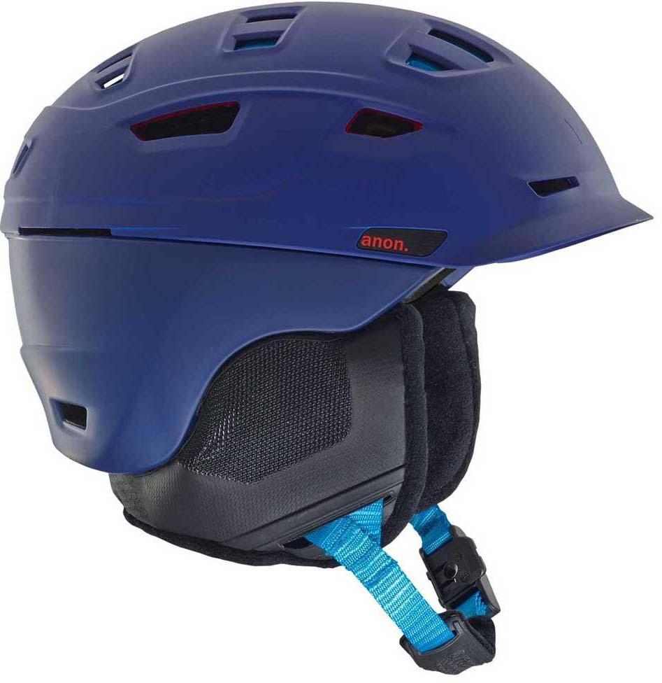 Шлем горнолыжный мужской Anon Prime Mips, цвет: синий. Размер L шлем горнолыжный salomon helmet brigade audio grey forest gr размер l 58 59
