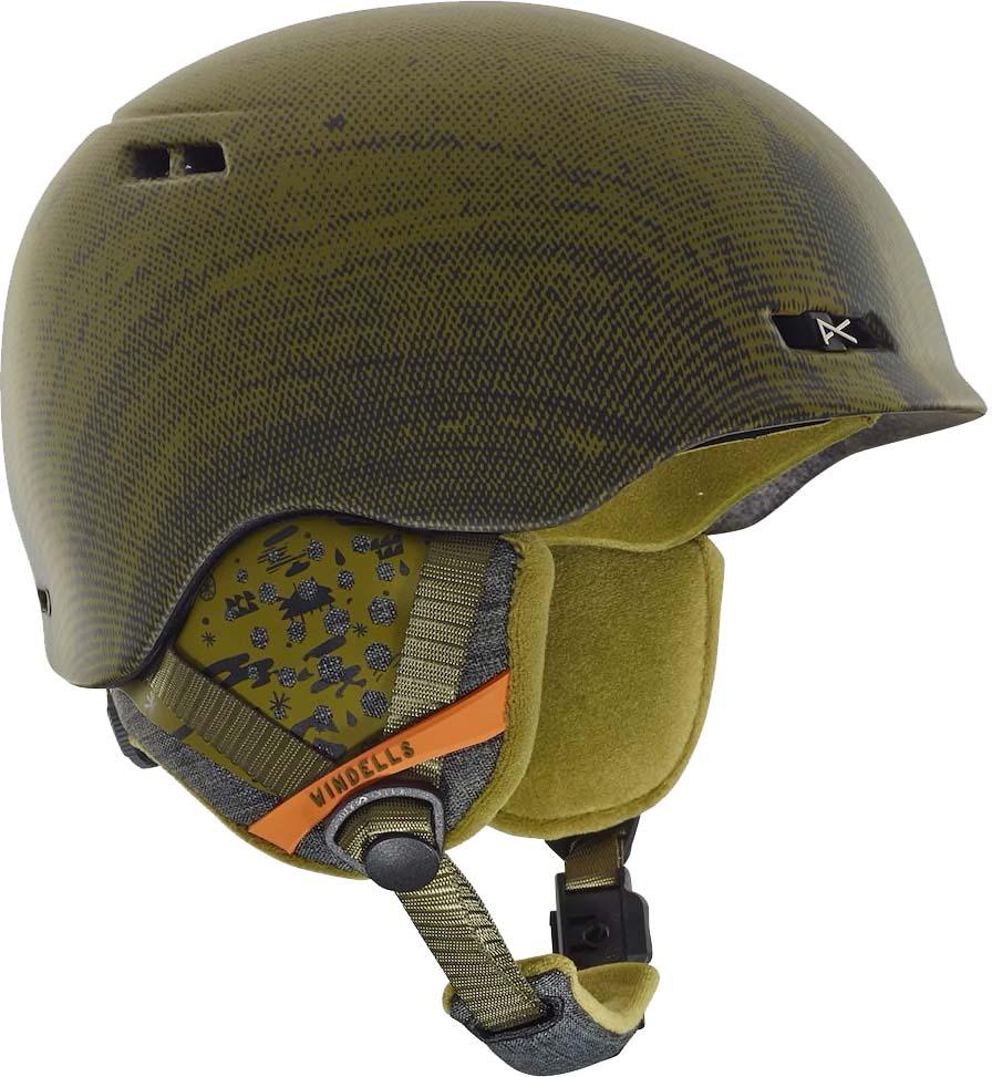 Шлем горнолыжный мужской Anon Rodan, цвет: зеленый. Размер L anon маска сноубордическая anon somerset pellow gold chrome