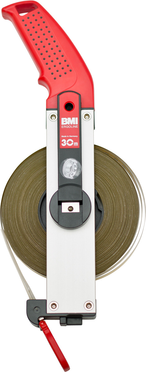 BMI ERGOLINE 30m измерительная рулетка цены онлайн