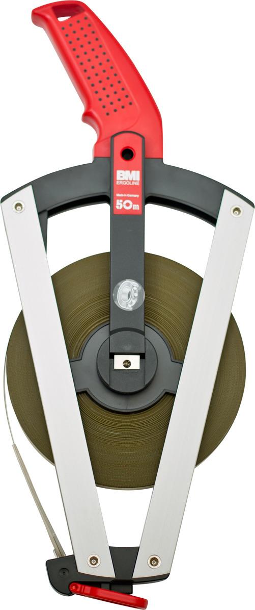 BMI ERGOLINE 50m измерительная рулетка цены онлайн