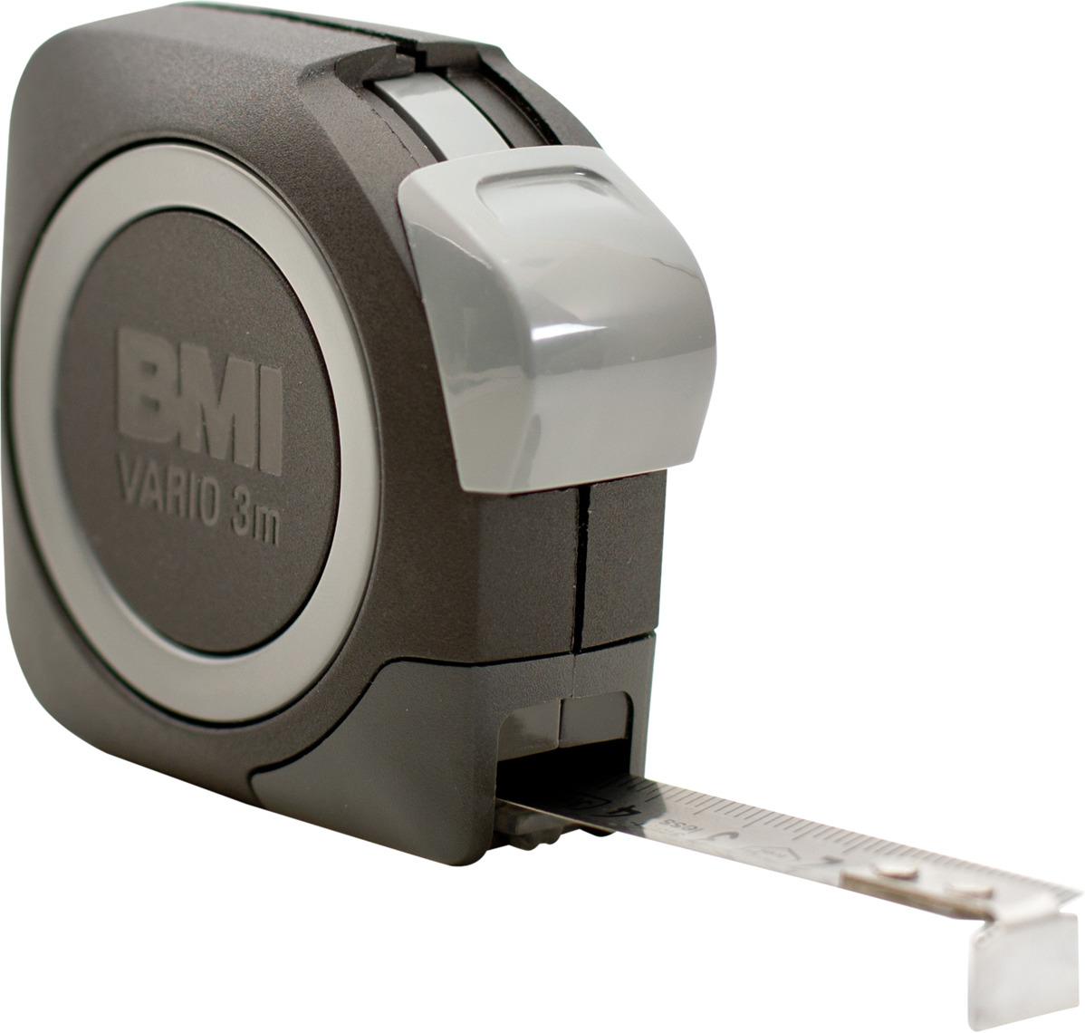Измерительная рулетка BMI Vario Rostfrei, 411343120, 3 м