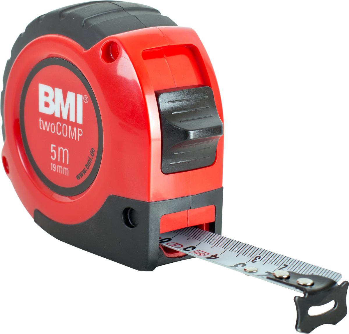 Измерительная рулетка BMI Twocomp, 472541021, 5 м
