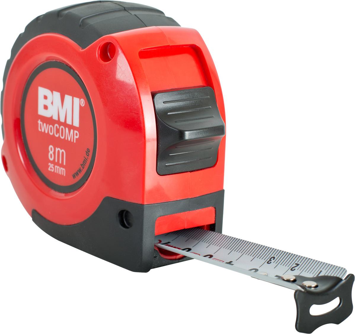 Измерительная рулетка BMI Twocomp, 472841021, 8 м