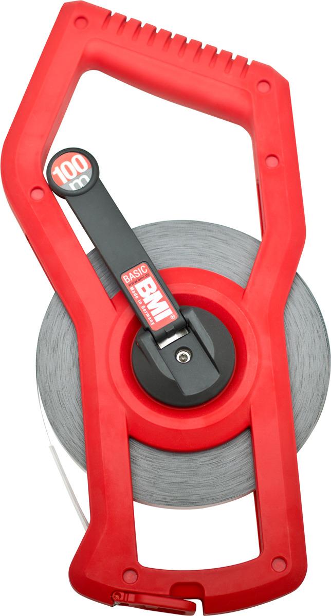 Измерительная рулетка BMI Basic, 501344100BHF, 100 м
