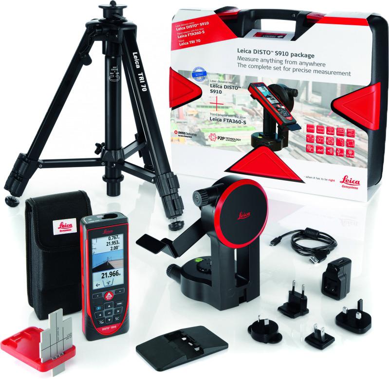 Лазерный дальномер Leica Disto S910, 806677