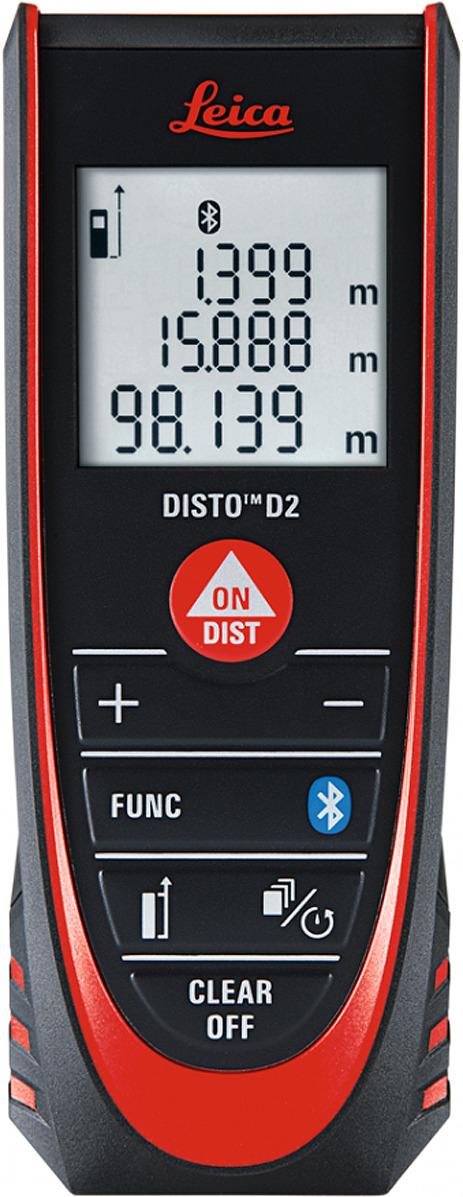 лучшая цена Лазерный дальномер LEICA Disto D2 NEW