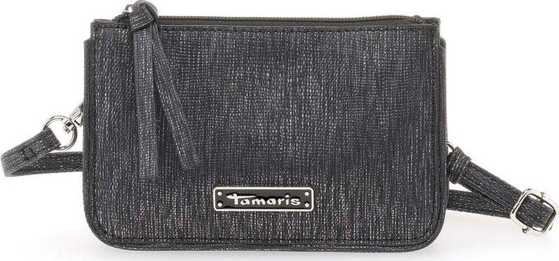 Клатч женский Tamaris, черный. 2619181-001 клатч picard 9129 06e 001 schwarz