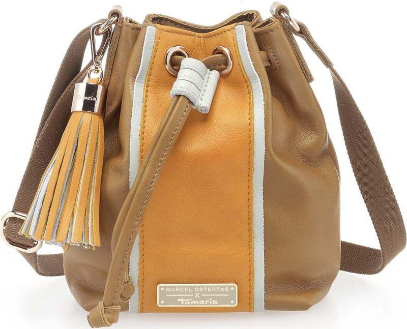 Сумка женская Tamaris, 2714181-394, коричневый банный комплект juanna сауна женская sevakin коричневый коричневый