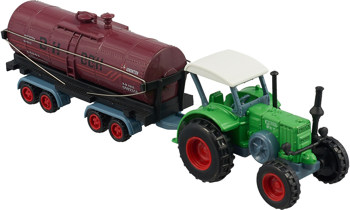 """<b>Машинка</b> Hoffmann """"Трактор"""", 47531, зелёный, масштаб 1:72 ..."""