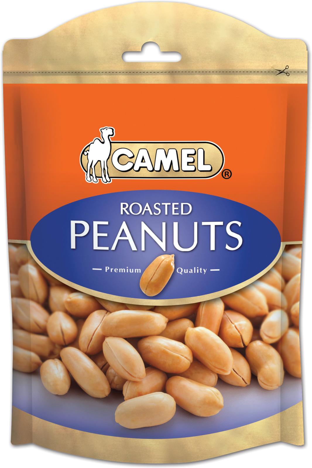 Жареный арахис подсоленный Camel, 150 г peyman арахис жареный острый 40 г