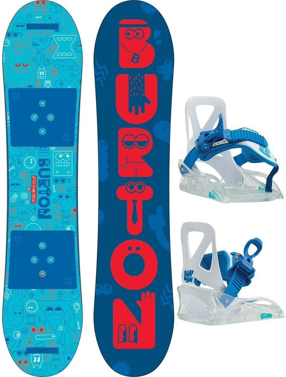цена на Набор для мальчика Burton After School Spe: сноуборд с креплением, длина сноуборда 80 см