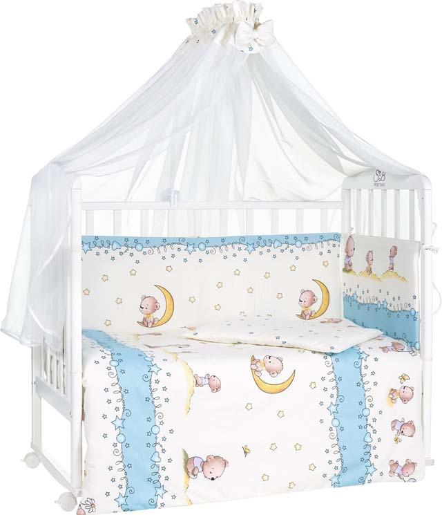 Комплект в кроватку Sweet Baby Cielo, 412847, светло-бежевый, 7 предметов
