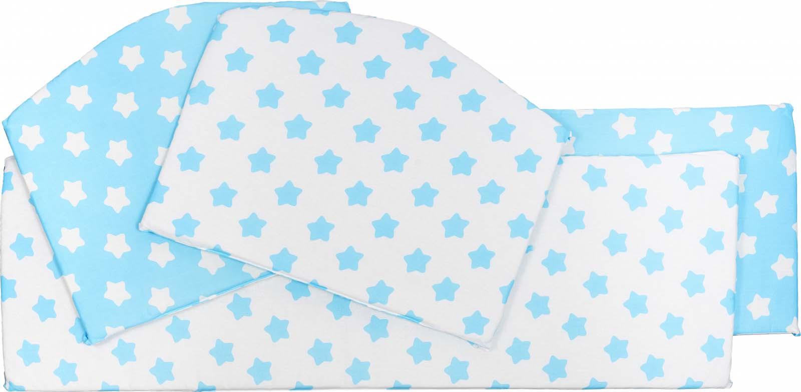 Бортики в кроватку Sweet Baby Stelle,бирюзовый, 4 части