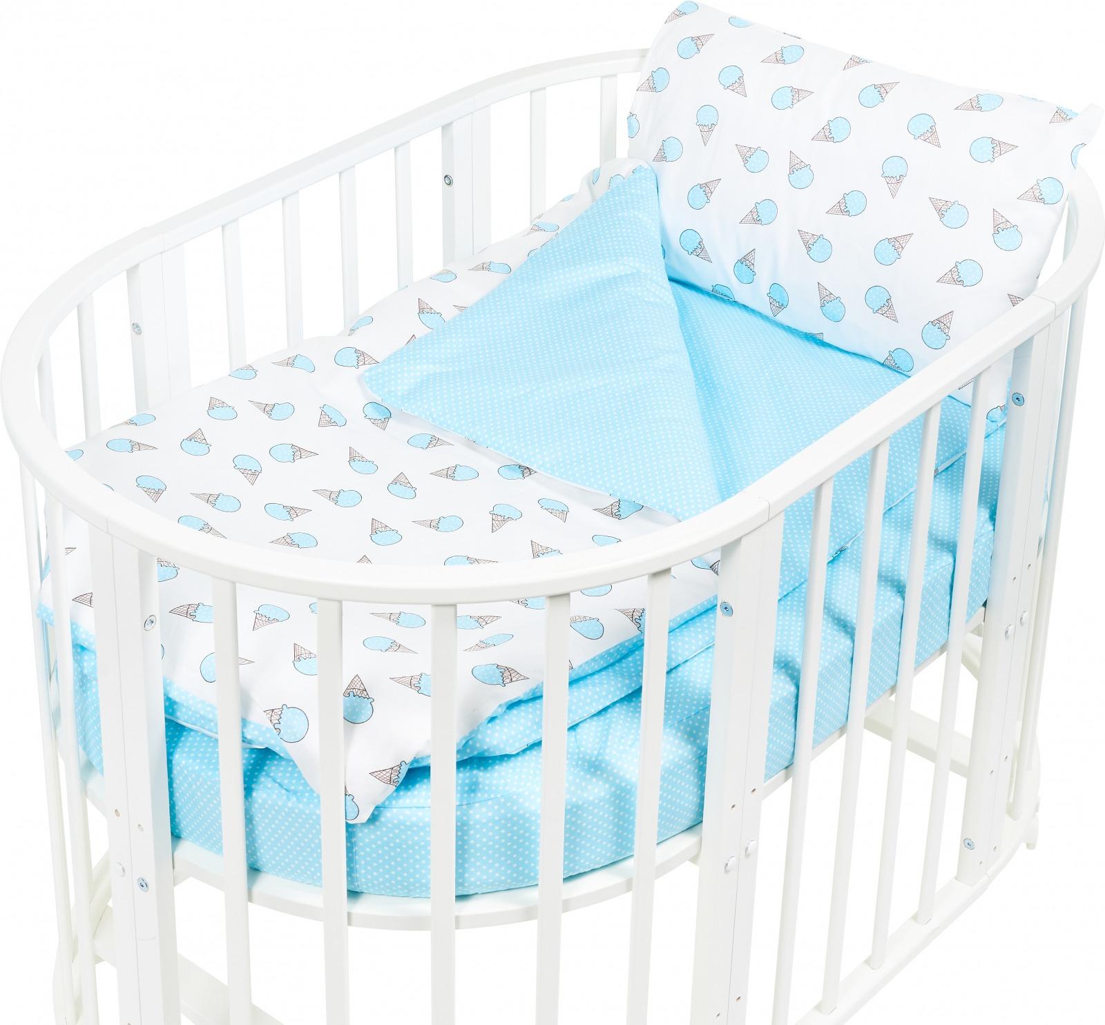 Комплект постельного белья Sweet Baby Yummy, 411963, бирюзовый, 4 предмета цена