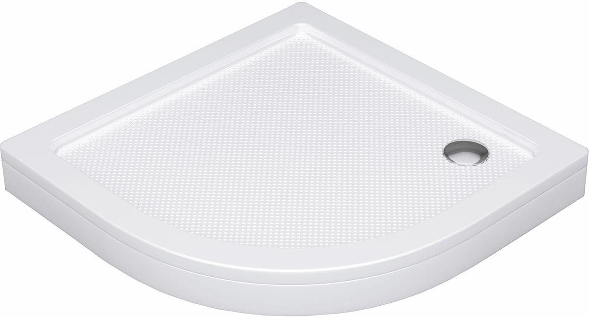 Душевой поддон WasserKRAFT Isen, сектор, 26T00, 80 х 80 см, белый