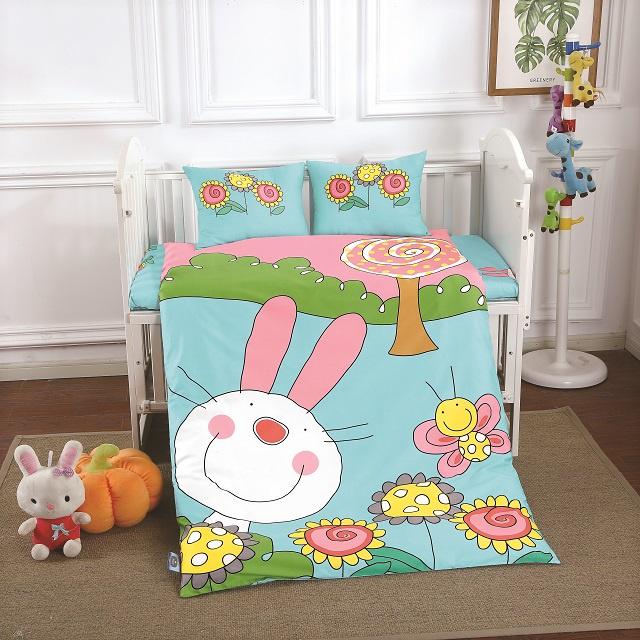 Комплект в кроватку DO&CO Bekky, 10038, 100х150 см