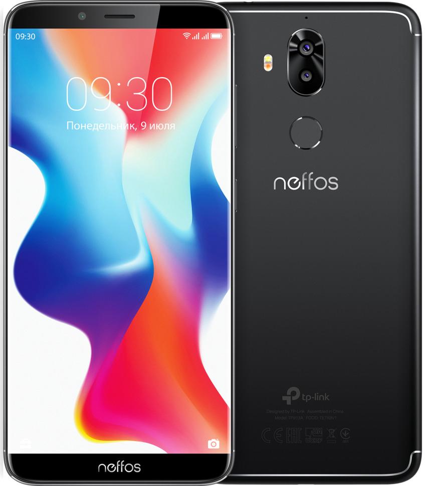 Смартфон Neffos Neffos X9, черный