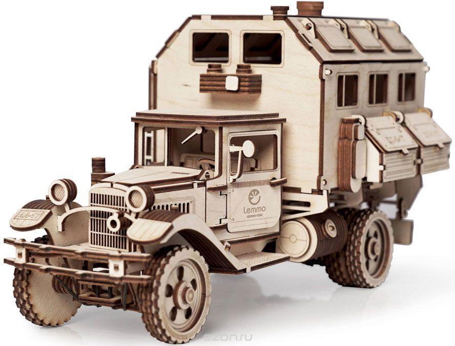Деревянный конструктор Lemmo 01-00 конструктор lemmo большой грузовик газ аа